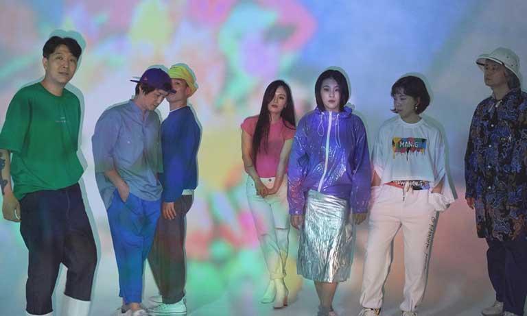韓国の伝統音楽スクンガと80sを融合させた個性派バンド LEENALCHI