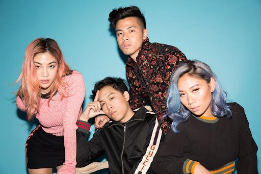 サマソニにも出演したシンガポールの4人組ポップバンド The Sam Willows